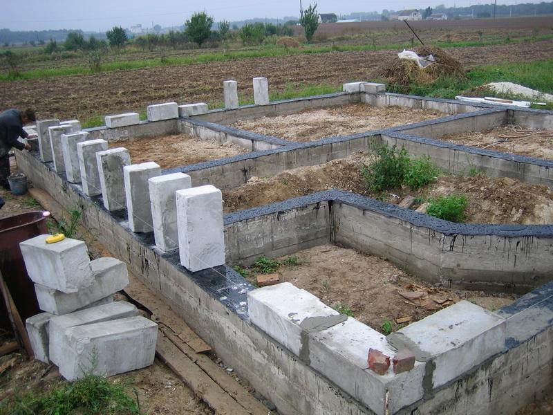 Строительство домов из пеноблоков. Проекты